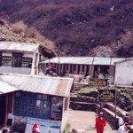 w himalajskiej wiosce
