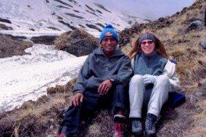 na himalajskich szlakach nasz przewodnik Ken i Kasia Fischbach