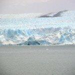 lodowce spływają bezpośrednio do oceanu