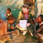 u buszmenów w środkowej Tanzanii