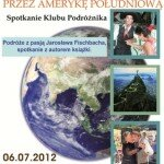 """plakat prezentacji """"Polskim szlakiem przez AP"""""""