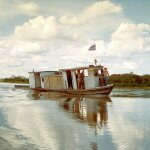nasza barka na woadach Taquari