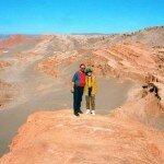 Anna i Jarosław Fischbach na Pustyni Atacama