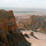 urozmaicona rzeżba powierzchni na pustyni Atacama