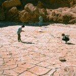 na pustyni są miejsca, gdzie nie pdały deszcze od stu lat