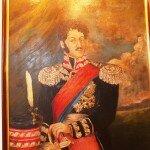 obraz Raula Nałęcza-Małachowskiego zdobi wnętrza polskiej ambasady w Chile