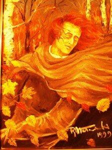 portret Chopina autorstwa Raula Nałecza-Małachowskiego