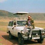 Jarosław Fischbach w drodze do plemienia Tatoga