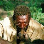 porany głód zabijany jest fajką z miejscowych ziół