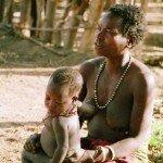 buszmańskie macierzyństwo