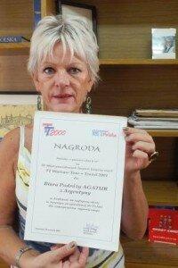 Ewa Janiak właścicielka AGATURU polskiego biura podrózy w Buenos Aires