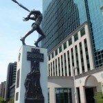 pomnik katyński w Nowym Jorku
