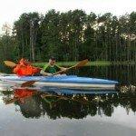 spokojne wody jeziora Soczewka